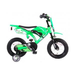 Volare moto/vélo enfant garçon 12 pouces vert