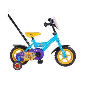 Vélo pour enfants Disney Toy Story 4 - Garçons - 10 pouces - Bleu / Jaune