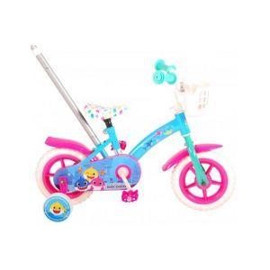 Vélo pour enfants Baby Shark - Unisexe - 10 pouces - Rose Bleu