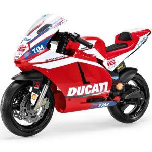 Peg Perego moto électrique enfant rouge Ducati GP