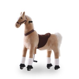 Kijana jouet d'équitation grand cheval beige