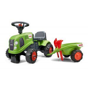 Falk tracteur bébé case vert