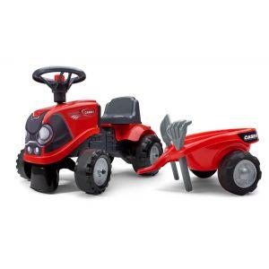 Falk tracteur bébé case rouge