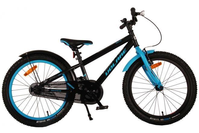 Volare vélo enfants Rocky 20 pouces noir 95% assemblé prime collection