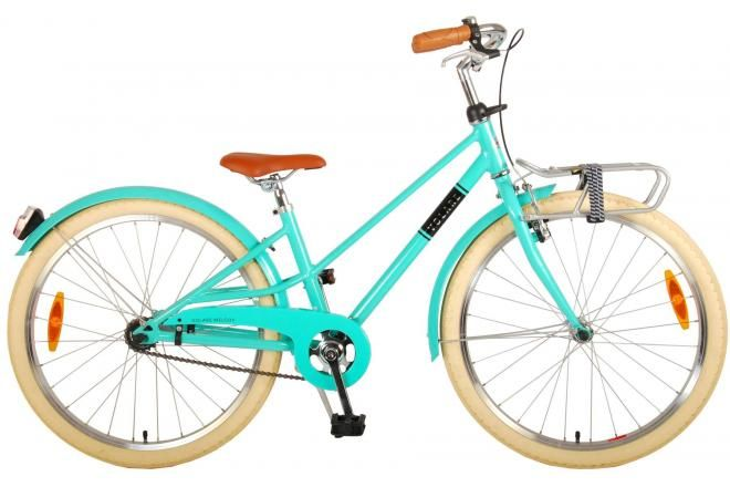 Volare Melody vélo enfant filles 24 pouces turquoise prime collection