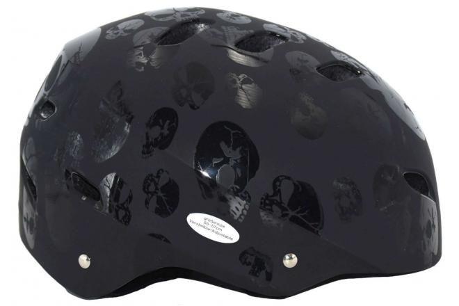Volare casque vélo/skate enfant Skull 55-57 cm