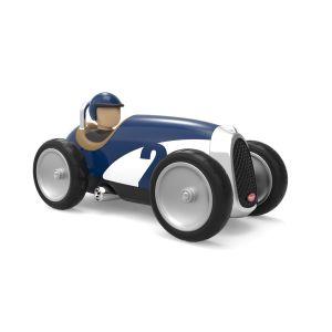 Baghera voiture jouet pour enfant racer bleue