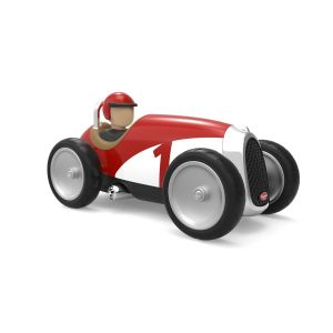 Baghera voiture jouet pour enfant racer rouge