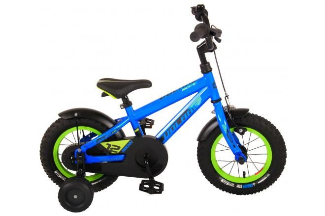 Volare Vélo pour enfants Rocky - Garçons - 12 pouces - Bleu - assemblé à 95 % - Prime Collection