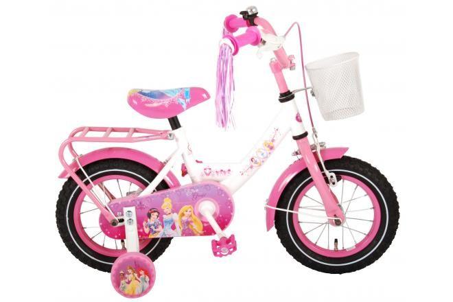 Vélo pour enfants Disney Princess - Filles - 12 pouces - Rose - 95% assemblé