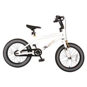 Volare Cool Rider vélo enfants garçons 16 pouces blanc 95% assemblé