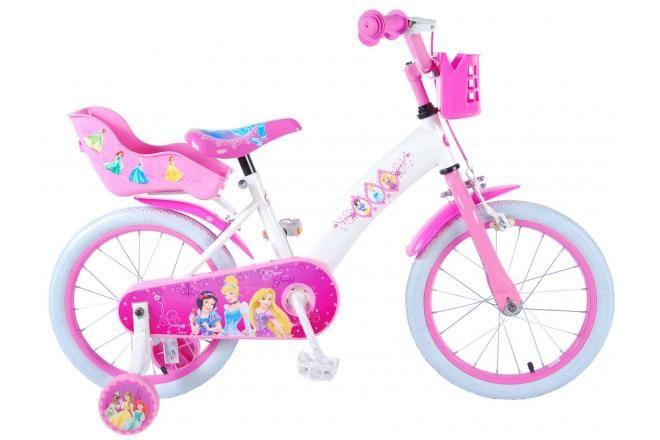 Vélo pour enfants Disney Princess - Filles - 16 pouces - Rose