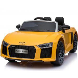 Audi pour enfant R8 jaune prijstechnisch vehicle pour enfant