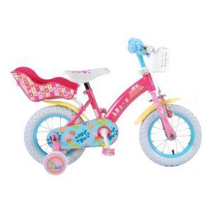 Vélo pour enfants Peppa Pig - Filles - 12 pouces - Rose