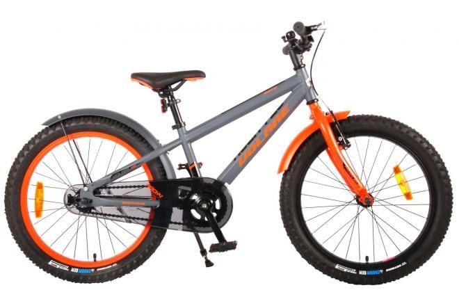 Volare vélo enfants Rocky 20 pouces gris 95% assemblé prime collection