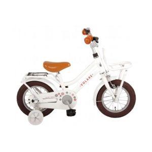 Volare Liberty vélo enfants filles 12 pouces blanc 95% assemblé