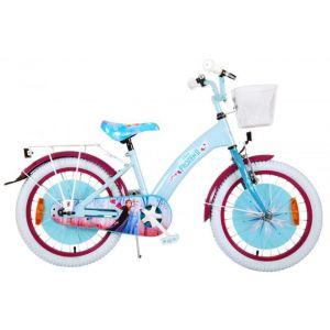 Vélo pour enfants La Reine des neiges 2 de Disney - Filles - 18 pouces - Bleu / Violet