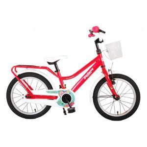 Volare Brillant vélo enfants filles 16 pouces rose 95% assemblé