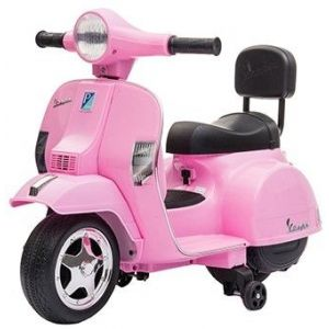 Vespa mini scooter électrique enfants rose