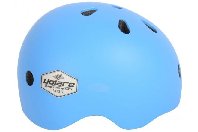 Volare casque de vélo enfant bleu 51-55 cm