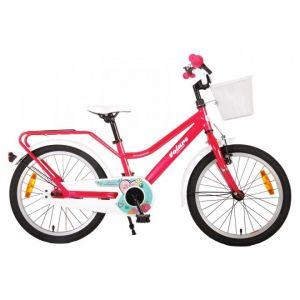 Volare Brillant vélo enfants filles 18 pouces rose 95% assemblé