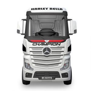 Mercedes Actros camion électrique enfants blanc