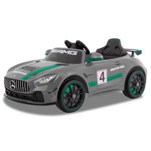 Mercedes voiture enfant GT4 grise