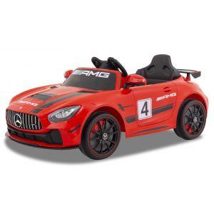Mercedes voiture enfant GT4 rouge