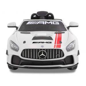 Mercedes GT4 AMG blanche prijstechnisch vehicle pour enfant