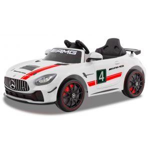 Mercedes voiture enfant GT4 blanche