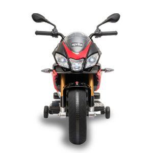 Aprilia Tuono moto électrique pour enfants rouge