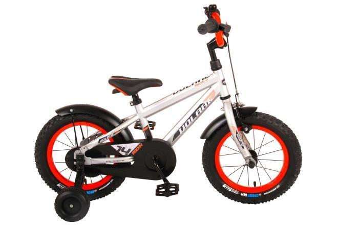Volare Rocky vélo enfants garçons 14 pouces argent 95% assemblé prime collection