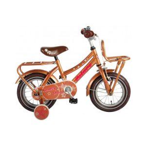 Volare Lovely Stars Bicyclettes pour enfants 12 pouces Or 95% assemblé
