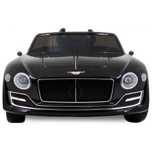 Bentley pour enfant Continental - noir roues volant accélérateur vue de face