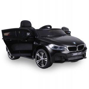 Voiture électrique BMW 6 série GT noire prijstechnisch vehicle pour enfant