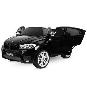 BMW X6M voiture électrique pour enfants noire 2 places
