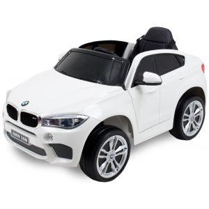 BMW voiture pour enfant X6 blanche