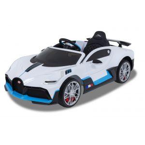 Bugatti voiture enfant Divo blanche