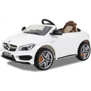Mercedes voiture pour enfant AMG CLA 45 blanche