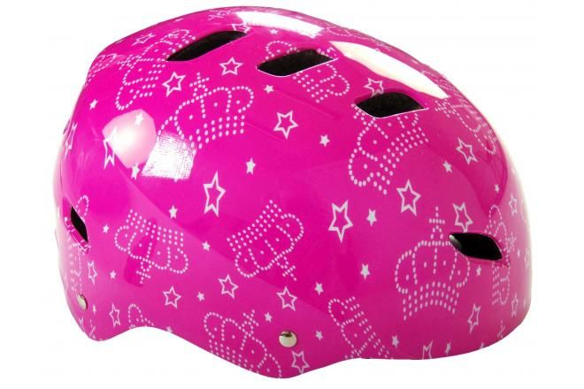 Volare casque vélo/skate enfant rose 55-57 cm