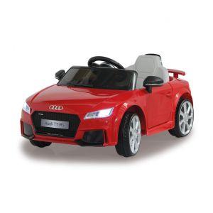 Audi voiture électrique pour enfants TT RS rouge