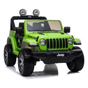 Voiture électrique pour enfants Jeep Wrangler rubicon vert