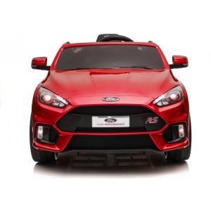 Ford Focus voiture électrique pour enfants rouge