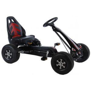 Volare Go Kart Racing Car Boys Large Pneumatiques Noir