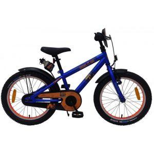 Vélo enfant NERF - Garçons - 18 pouces - Bleu satiné