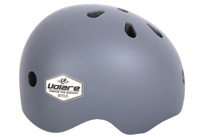 Volare casque de vélo enfant gris 51-55 cm