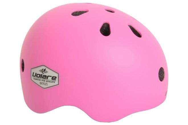 Volare casque de vélo - enfant - rose - 51-55 cm