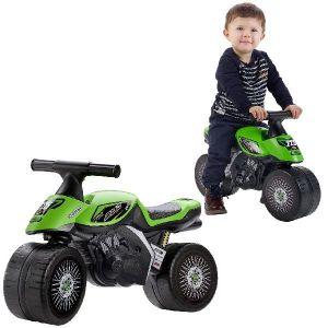 Falk porteur moto pour enfant Kawasak Bud Racing 1-3ans