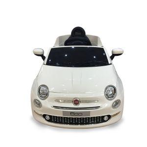Fiat 500 voiture électrique pour enfant blanche