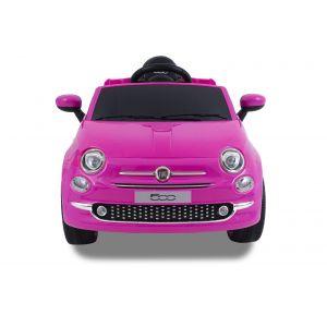 Fiat 500 pour enfant rose de face prijstechnisch vehicle pour enfant